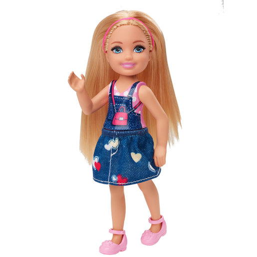 Barbie Club Chelsea 15cm Doll - Denim Outfit