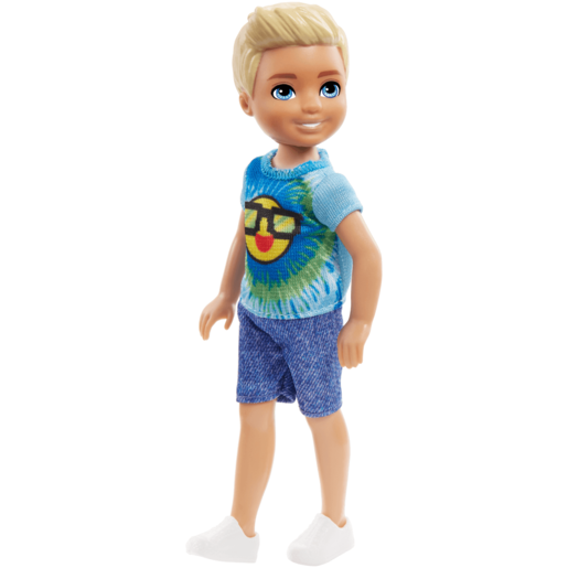 Barbie Club Chelsea 15cm Boy Doll - Emoji Tie Die Outfit