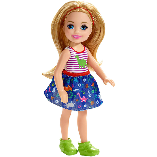 Barbie Club Chelsea 15cm Doll - Dinosaur Theme Outfit