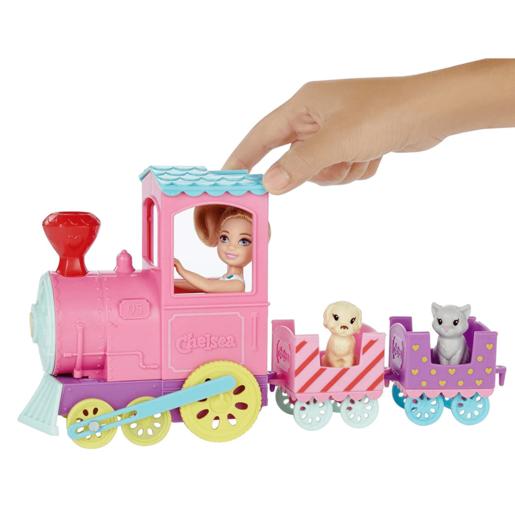 Barbie Chelsea Choo Train With Doll