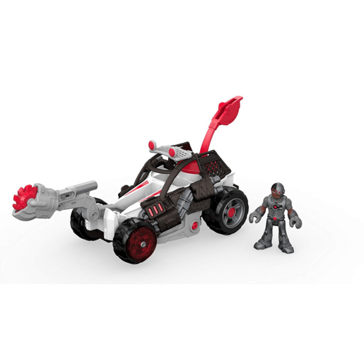 Fisher-Price Imaginext Streets of Gotham City - Cyborg and Saw Buggy