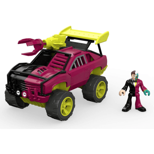 Imaginext DC Super Friends Streets of Gotham City - Two - Face and SUV