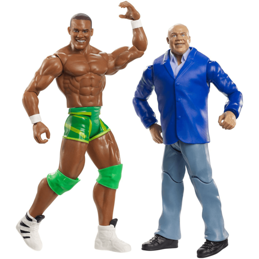 WWE Battle Pack Action Figures - Kurt Angle vs Jason Jordan