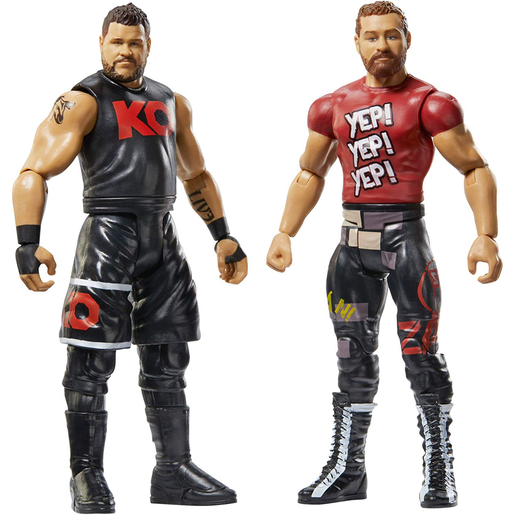 WWE Battle Pack Action Figures - Kevin Owens and Sami Zayn