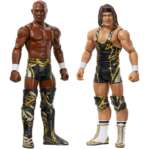 WWE Battle Pack Action Figures - Chad Gable and Shelton Benjamin