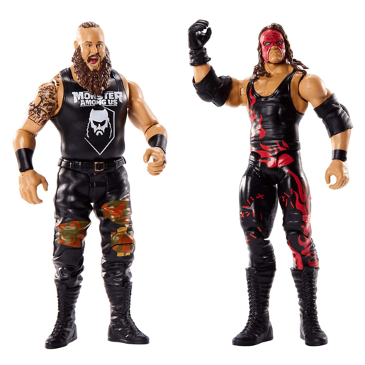 WWE Battle 2 Pack 15cm Action Figures - Braun Strowman vs Kane