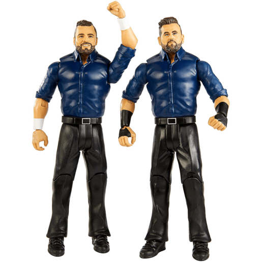 WWE Battle 2 Pack 15cm Action Figures - Sunil Singh and Samir Singh