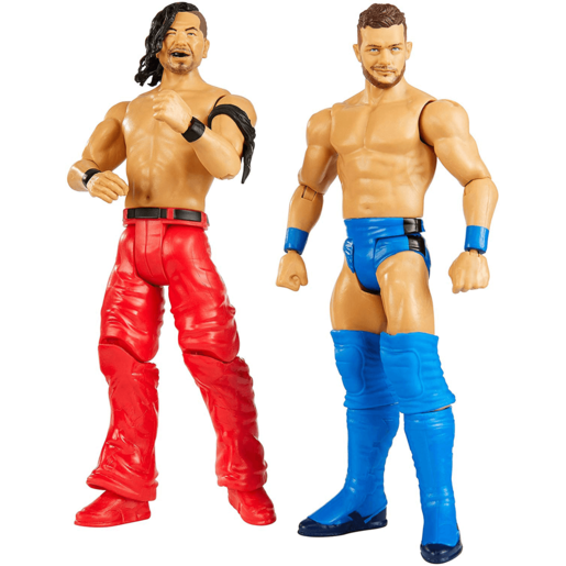 WWE Battle 2 Pack 15cm Action Figures - Finn Balor vs Shinsuke Nakamura