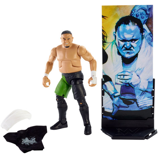 WWE Elite Collection Figures - Samoa Joe