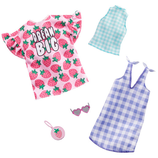 Barbie Fashions Dream Big Outfits - 2 Pack