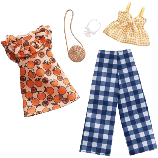 Barbie Fruit Gingham Fashion Pack