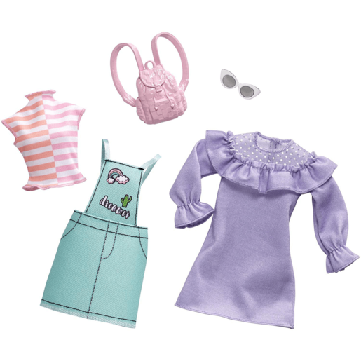 Barbie Pastel Overall Fashion Pack