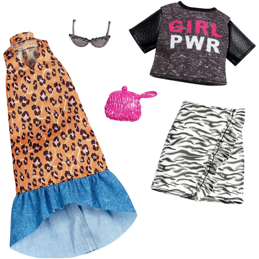 Barbie Girl Power and Animal Print Outfits