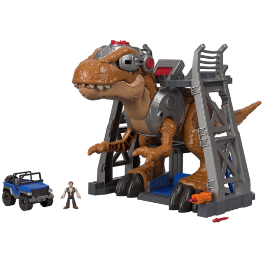 Fisher-Price Imaginext Jurassic Rex Dinosaur Playset