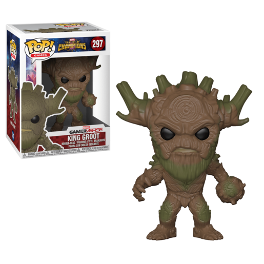 Funko Pop! Games: Marvel Contest Of Champions - King Groot
