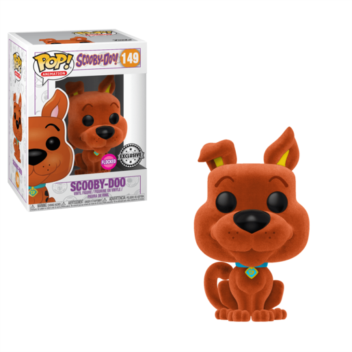 Funko Pop! Scooby Doo Flocked