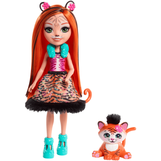 Enchantimals Tanzie Tiger Doll & Tuft Pet