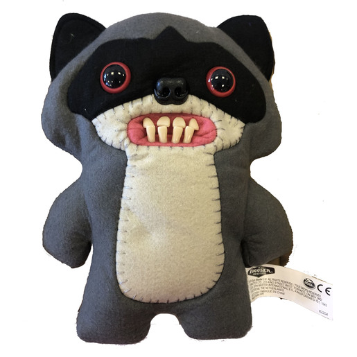 Fuggler 22cm Funny Ugly Monster - Grey And Black Bear