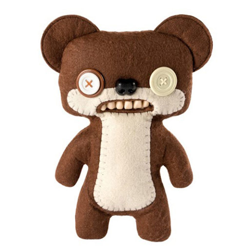 Fuggler 22cm Funny Ugly Monster - Teddy Bear Nightmare (Brown)
