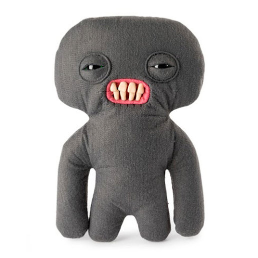 Fuggler 22cm Funny Ugly Monster - Squidge (Grey)