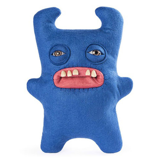 Fuggler 22cm Funny Ugly Monster - Sir Horns A lot (Blue)