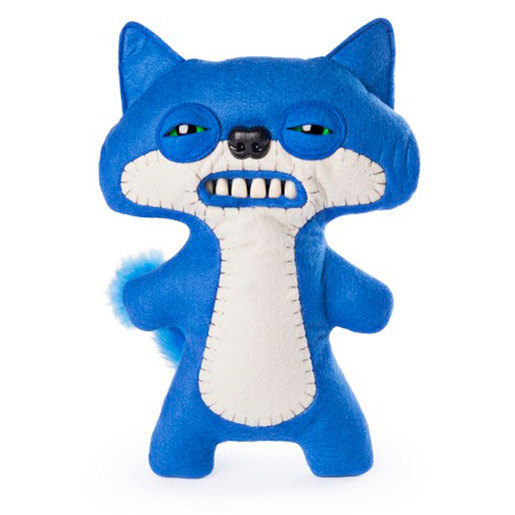 Fuggler 22cm Funny Ugly Monster - Suspicious Fox (Blue)