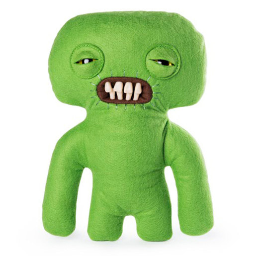 Fuggler 22cm Funny Ugly Monster - Squidge (Green)