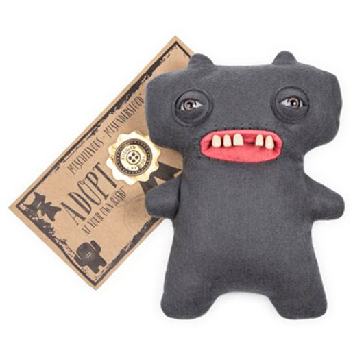 Fuggler 22cm Funny Ugly Monster - Gaptooth McGoo (Grey)