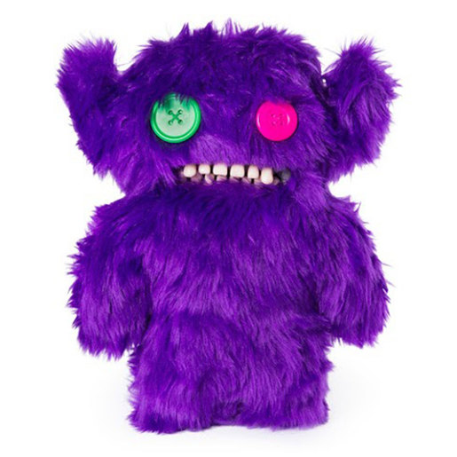 Fuggler 22cm Funny Ugly Monster - Grumpy Grumps (Purple Fur)