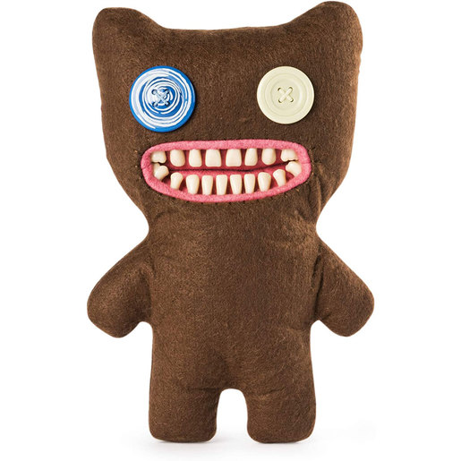 Fuggler 22cm Funny Ugly Monster - Mr Buttons (Brown)