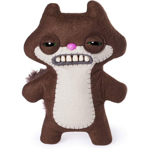 Fuggler 22cm Funny Ugly Monster - Sketchy Squirrel (Brown)
