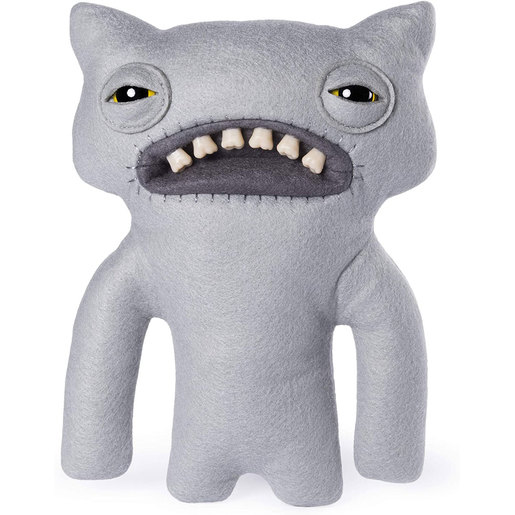 Fuggler 22cm Funny Ugly Monster - Wide-Eyes Weirdo (Grey)