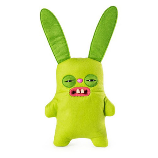 Fuggler 22cm Funny Ugly Monster - Rabid Rabbit (Green)