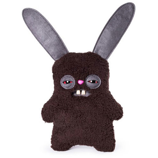 Fuggler 22cm Funny Ugly Monster - Rabid Rabbit (Fuzzy Brown)