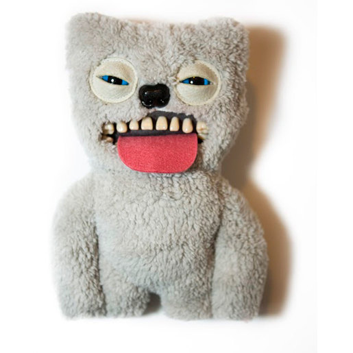 Fuggler 22cm Funny Ugly Monster - Sir Belch (Fuzzy White)
