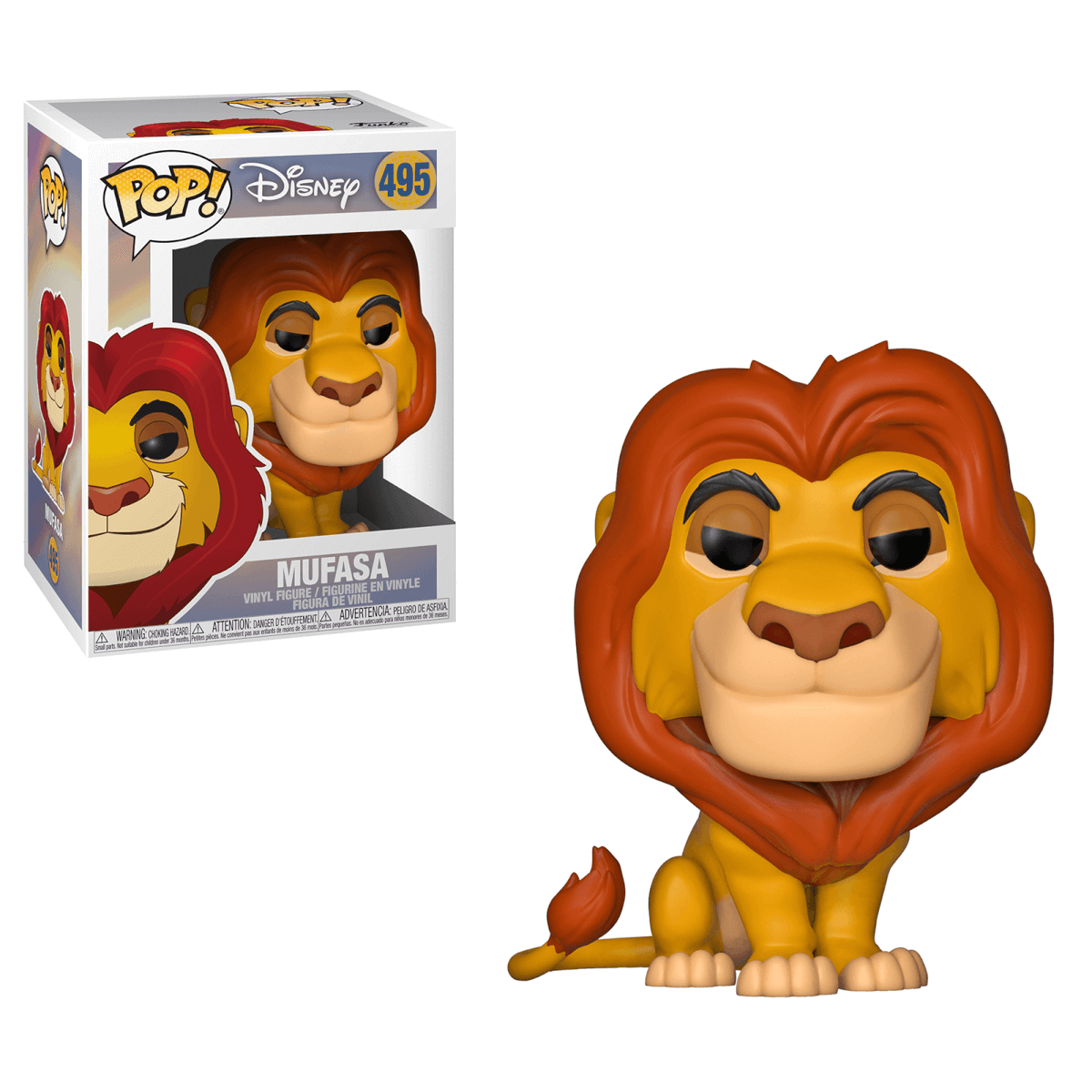 Funko Pop Disney The Lion King Mufasa The Entertainer