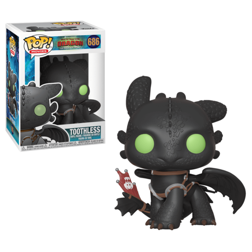 Funko Pop! Movies: How To Train Your Dragon - The Hidden World - Toothless