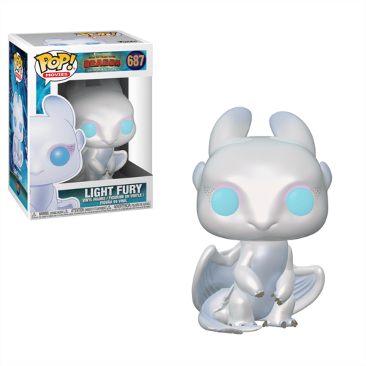 Funko Pop! Movies: How To Train Your Dragon - The Hidden World  - Light Fury