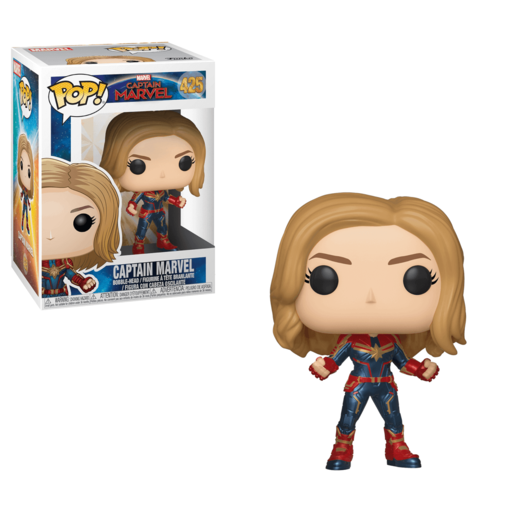 Funko Pop! Marvel: Captain Marvel - Captain Marvel (Styles Vary)