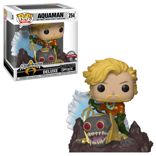 Funko Pop! Heroes : Aquaman - Jim Lee (UK Exclusive)