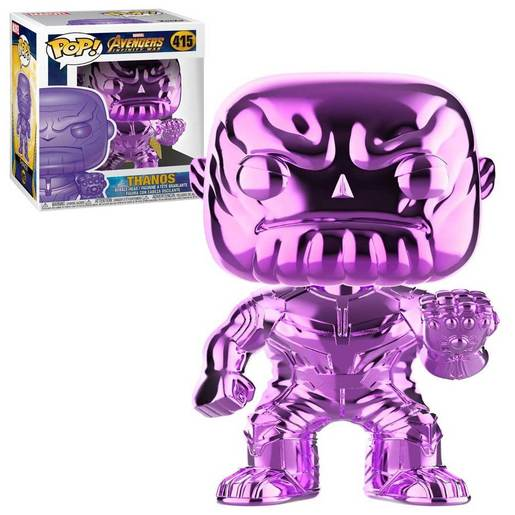 Funko Pop! Marvel: Avengers Infinity War - Thanos (Chrome - Purple)