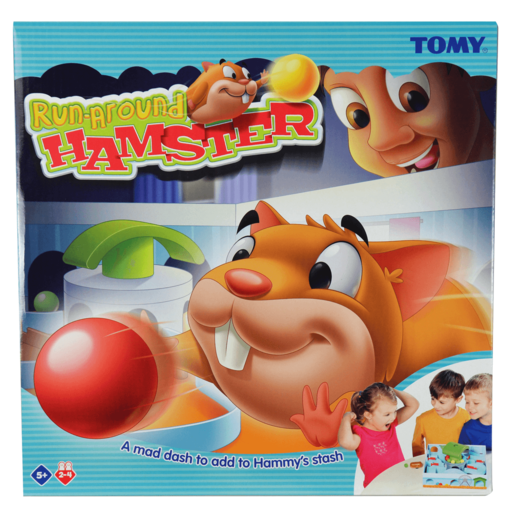 Tomy Run-Around Hamster Game