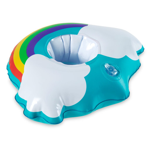 Inflatable Suntastic Cup Holder - Rainbow
