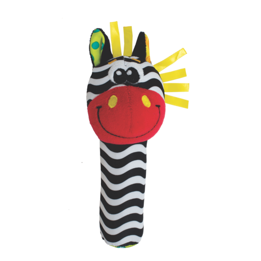 Playgro Jungle Squeaker Zebra
