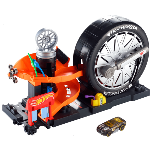 Hot Wheels City Super Spin Tire Shop