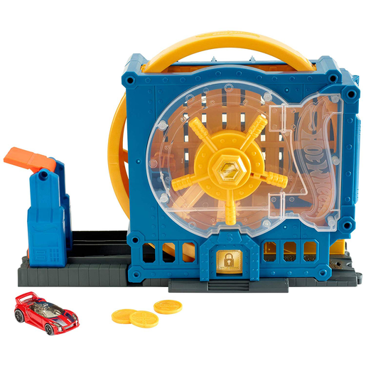 Hot Wheels City Super Bank Blast-Out Playset