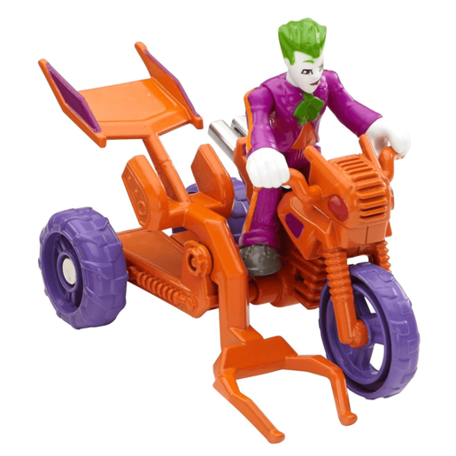 Imaginext DC Super Friends Streets of Gotham City - The Joker and Cycle