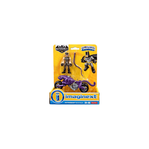 Imaginext DC Super Friends Streets of Gotham City - Catwoman and Cycle