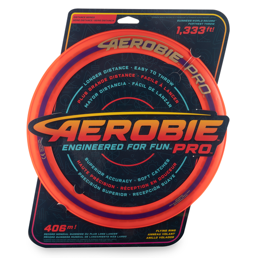 Aerobie Pro 33cm Flying Ring - Orange