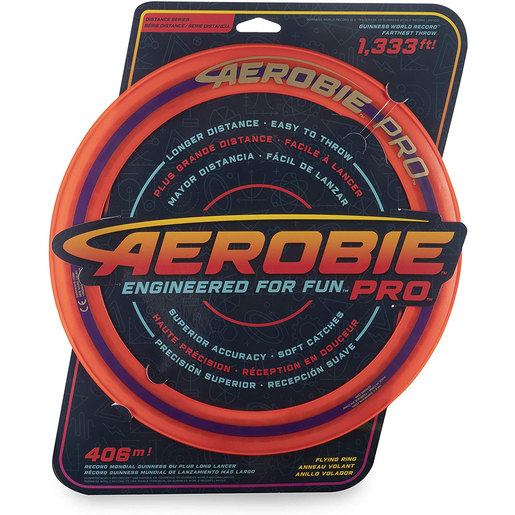 Aerobie Pro 33cm Flying Ring - Red